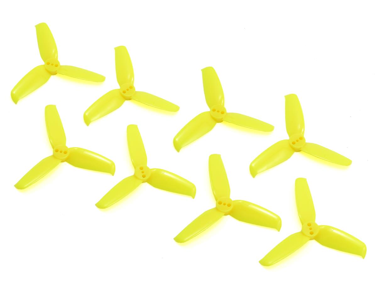 Flash 2540 Tri-Blade Durable Prop (3 Hole) (Yellow) (8)