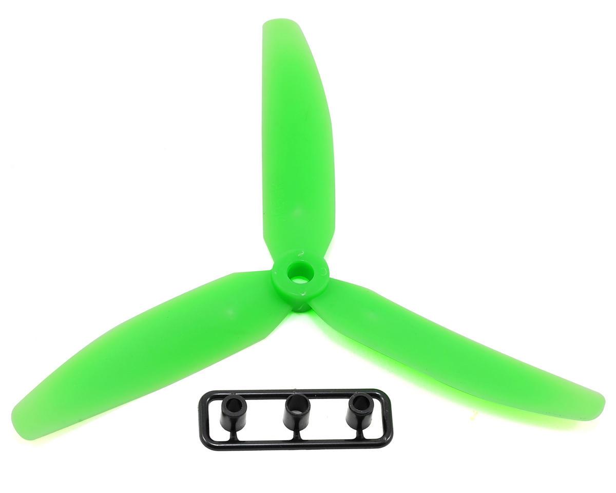 Gemfan 5x3 3 Blade Reverse Rotation Propeller Green Gfn