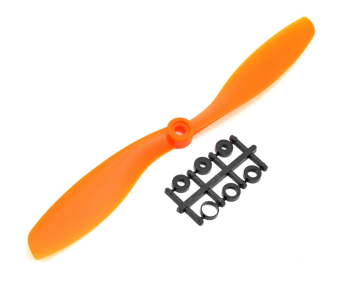 GemFan 8x4.5 Normal Rotation Propeller (Orange)