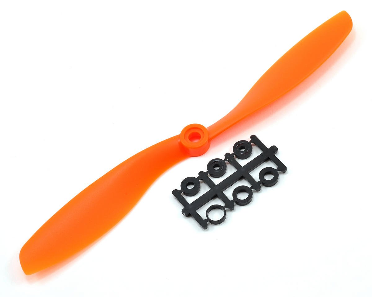 GemFan 8x4.5R Reverse Rotation Propeller (Orange)