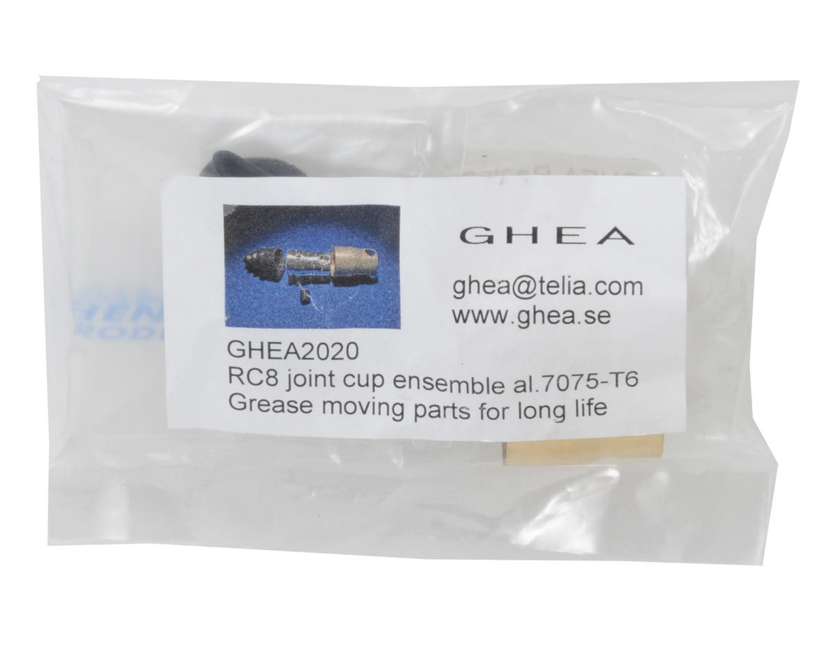 GHEA Racing Products Aluminum Gearbox Input Cup Set (2)