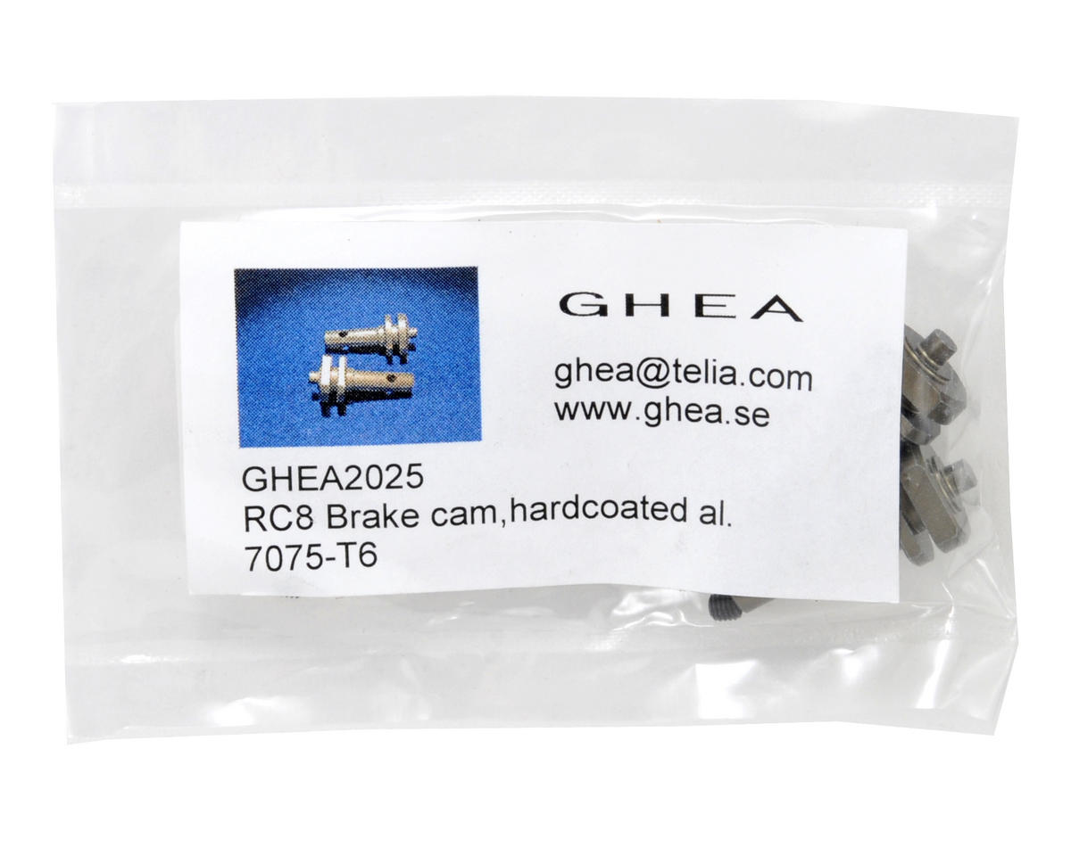 GHEA Racing Products Aluminum Brake Cam Set (2)