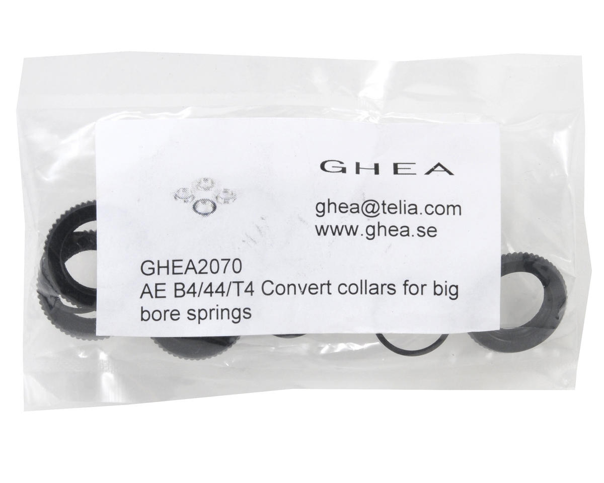 GHEA Racing Products Big Bore Shock Spring Shock Collar Set w/O-Ring (4)