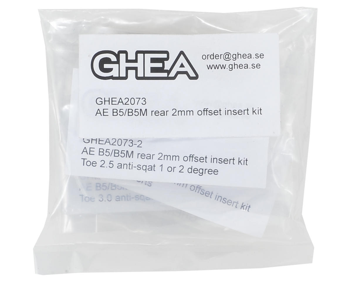 GHEA 2mm B5/B5M Rear Offset Insert Kit