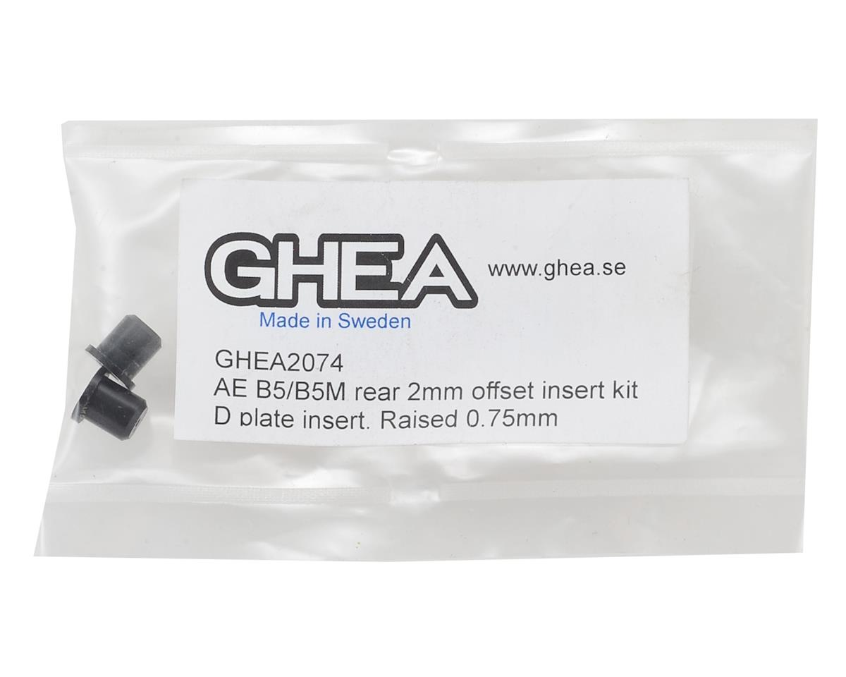 GHEA Racing Products B5/B5M 2mm Offset Insert Kit (D Plate)