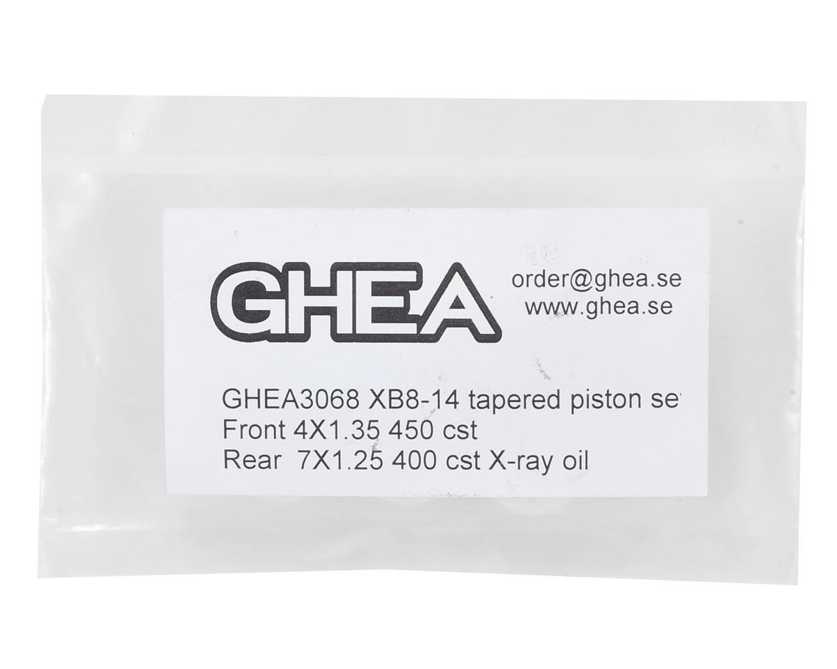 GHEA XRAY XB8 1/8 Machined Shock Piston Set