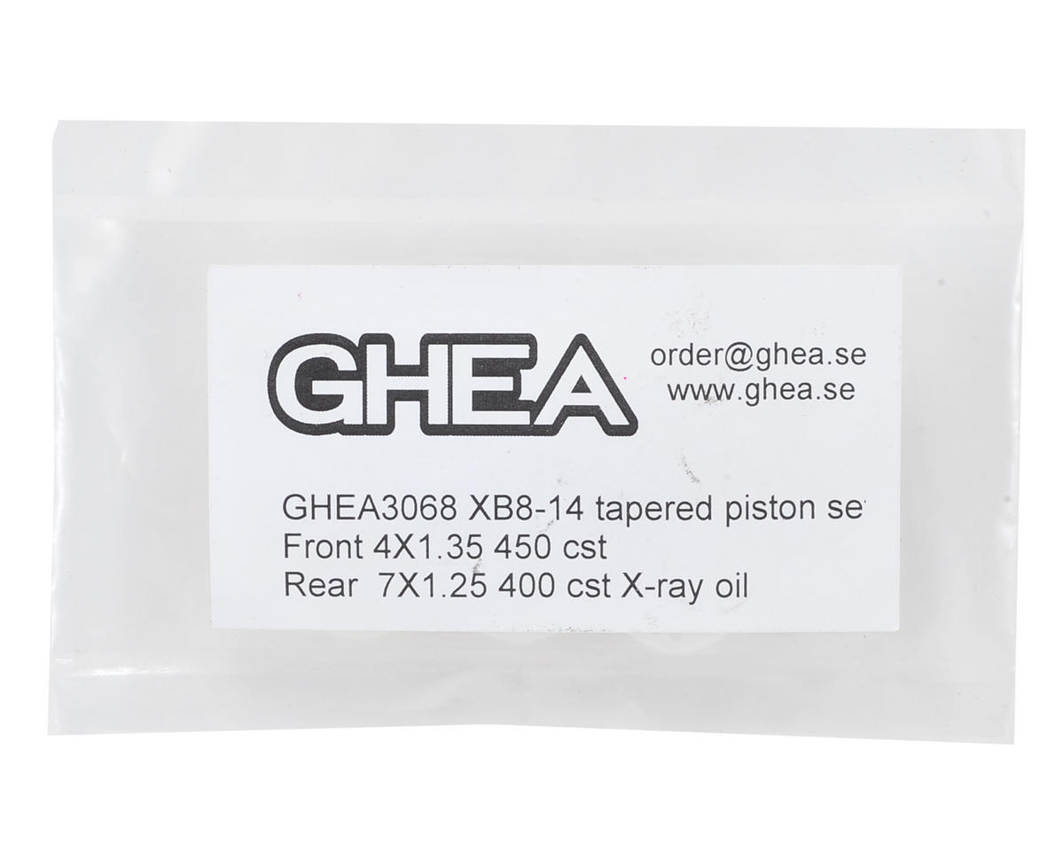 XRAY XB8 1/8 Machined Shock Piston Set by GHEA