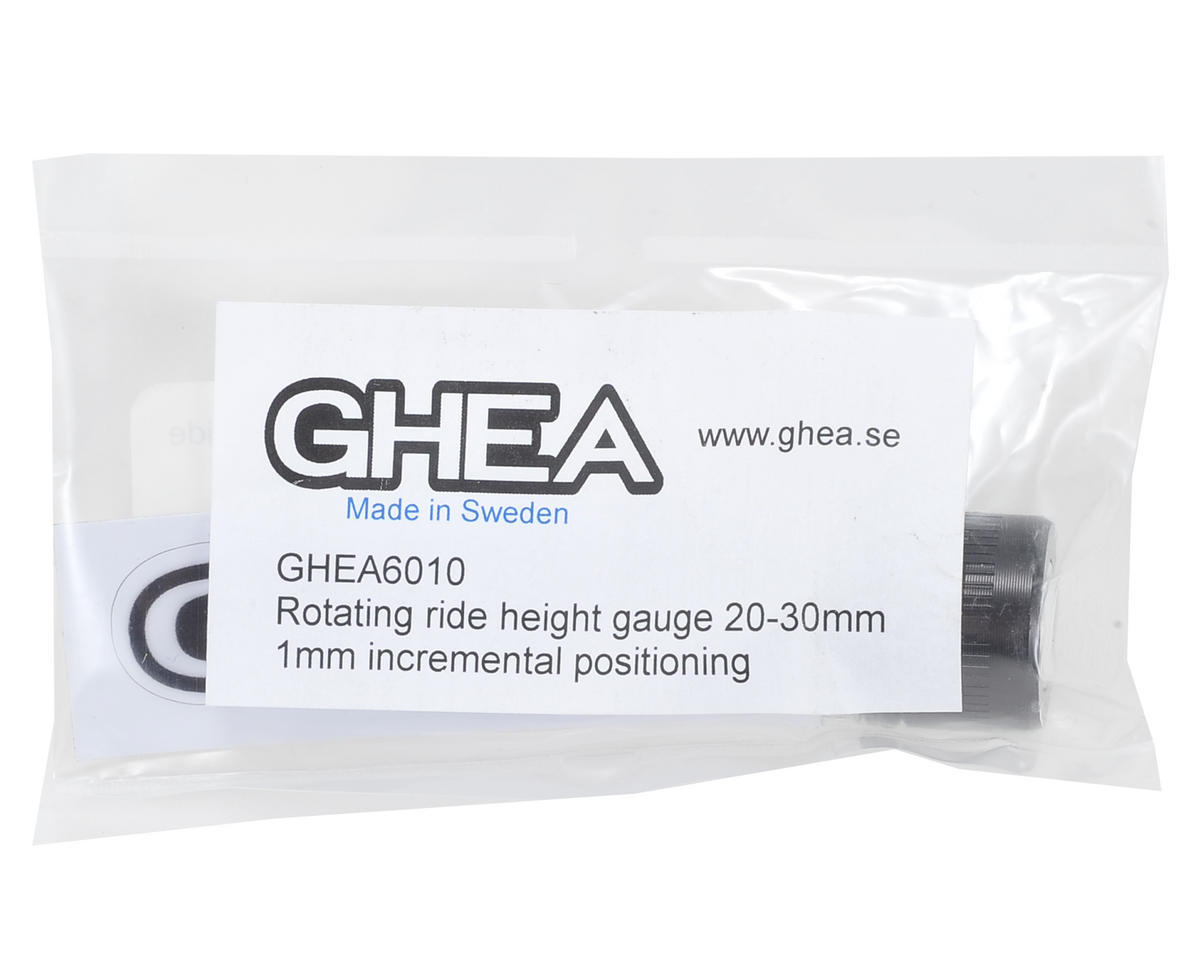 GHEA Racing Products Aluminum Ride Height Gauge (20-30mm) (Black)