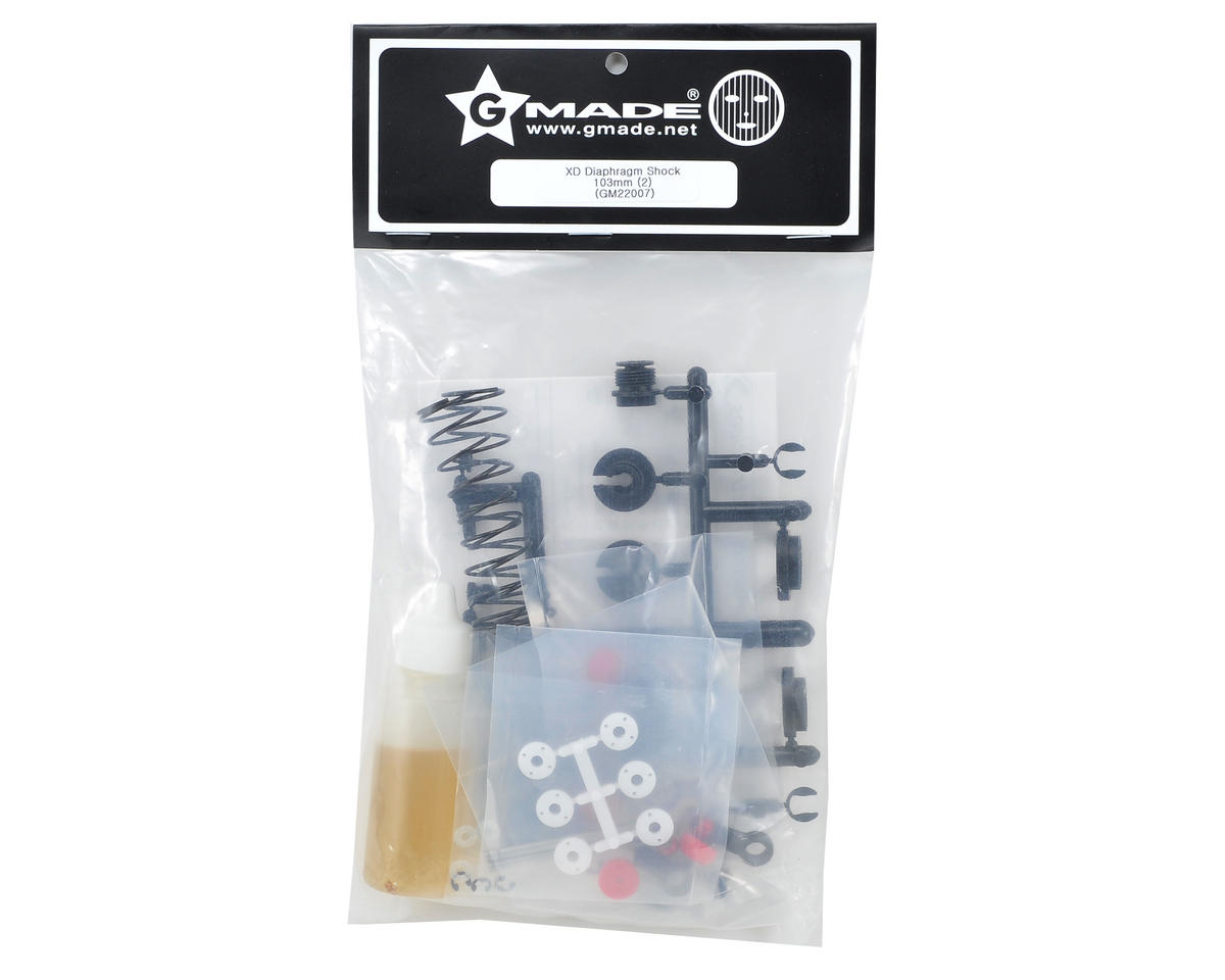 Gmade 103mm XD Diaphragm Shock Set (2)