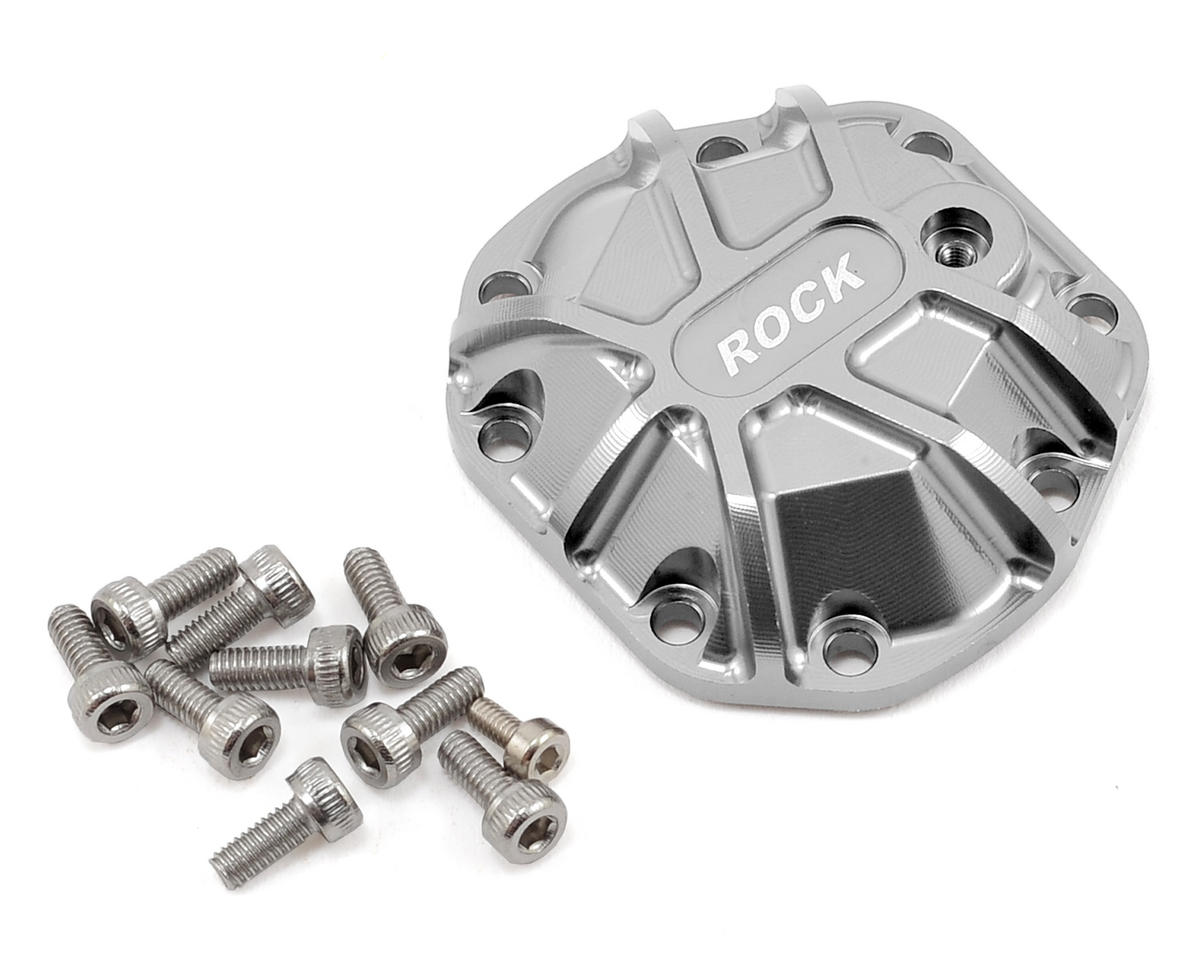 Gmade GMade R1 3D Machined Differential Cover (Silver)