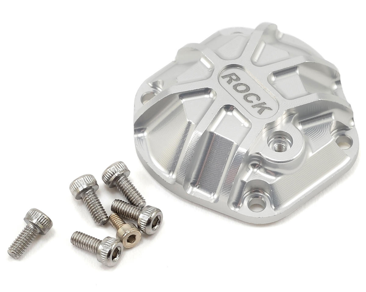 GS01 3D Machined Differential Cover (Silver) by Gmade