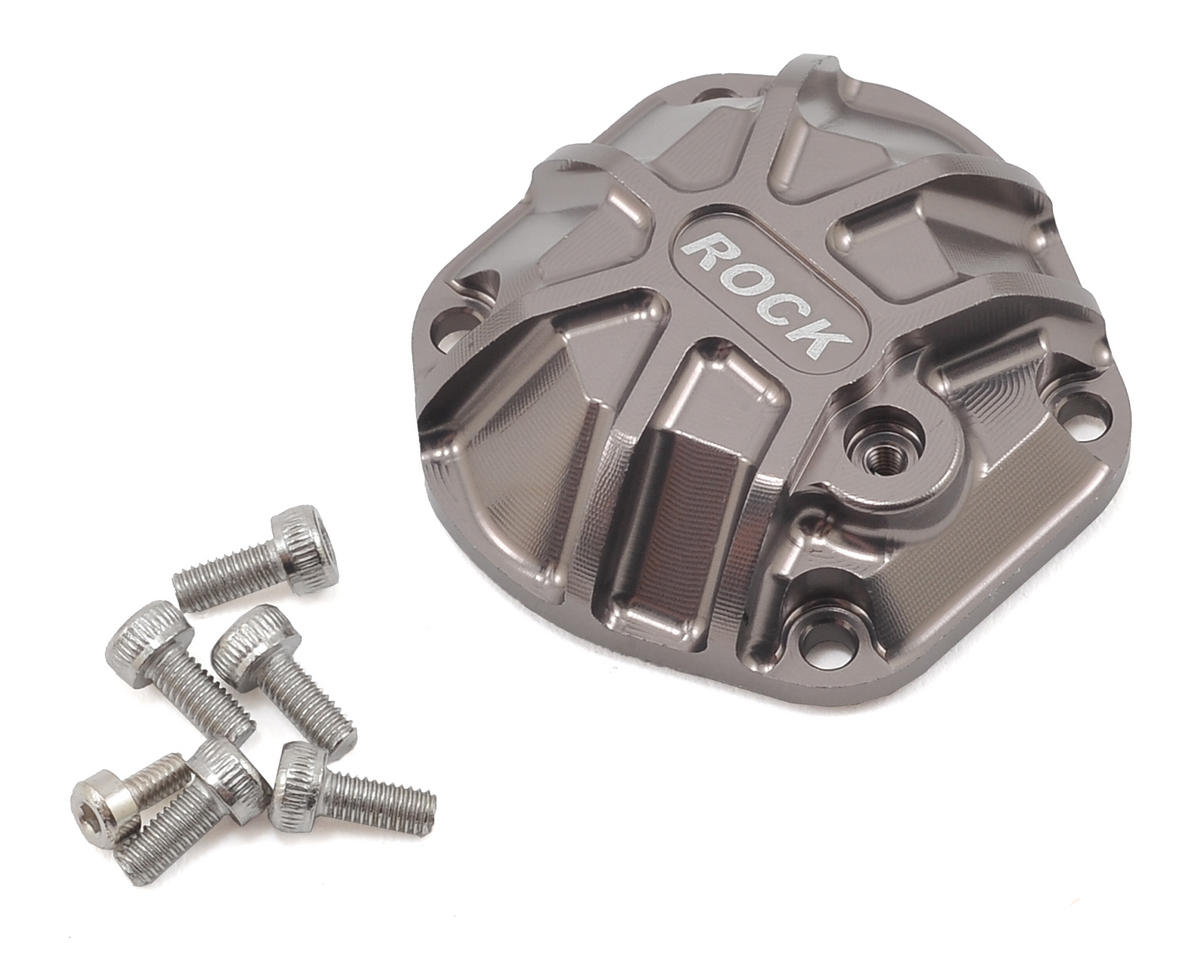 GS01 3D Machined Differential Cover (Grey) by Gmade
