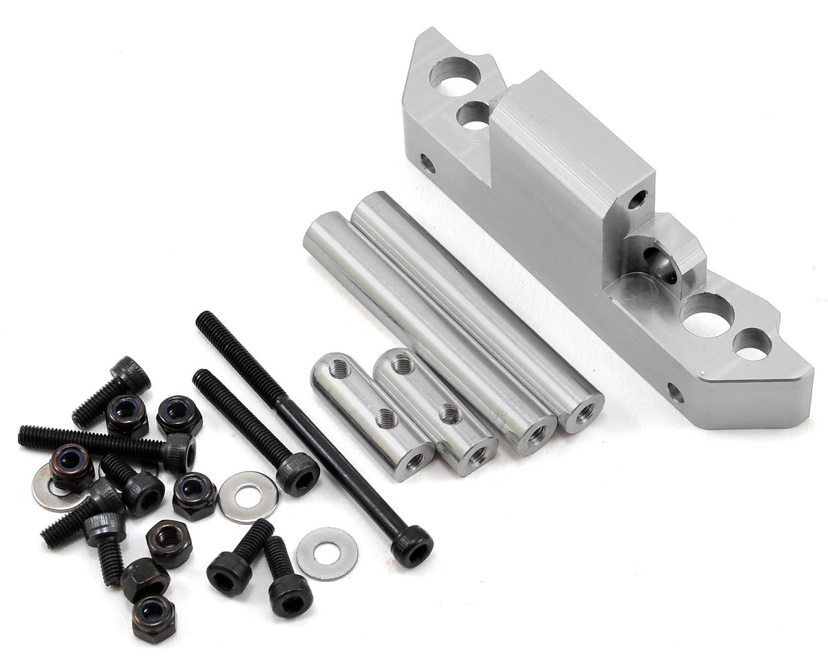 Gmade Komodo Aluminum Front Axle Truss Upper Link Mount (Silver)