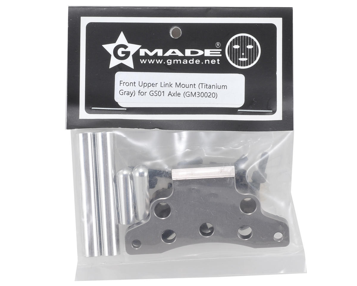 Komodo Aluminum Front Upper Link Mount (Grey) by Gmade