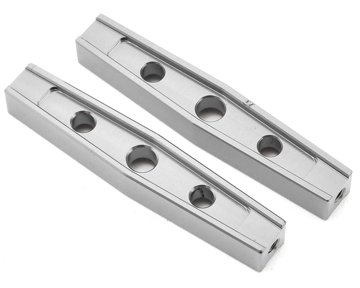 Komodo 54mm Machined Aluminum Upper Link (2) (Silver) by Gmade