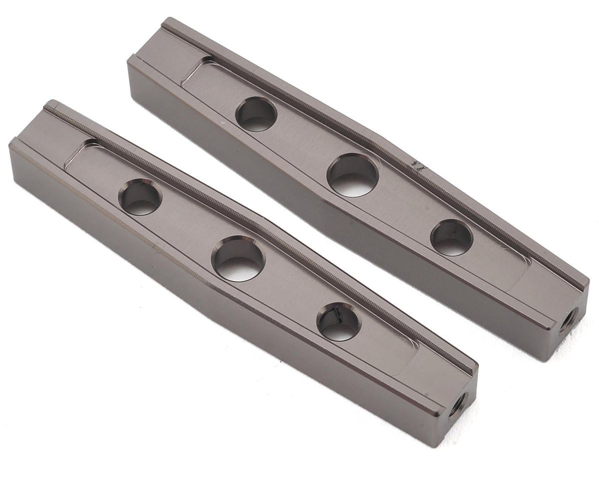 Gmade Komodo 54mm Machined Aluminum Upper Link (2) (Grey)