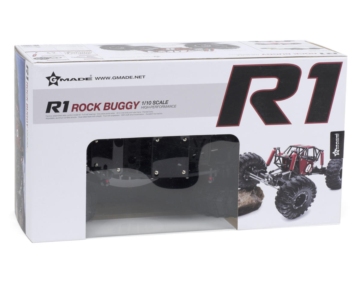 Gmade R1 1/10 Rock Buggy ARTR (Black)