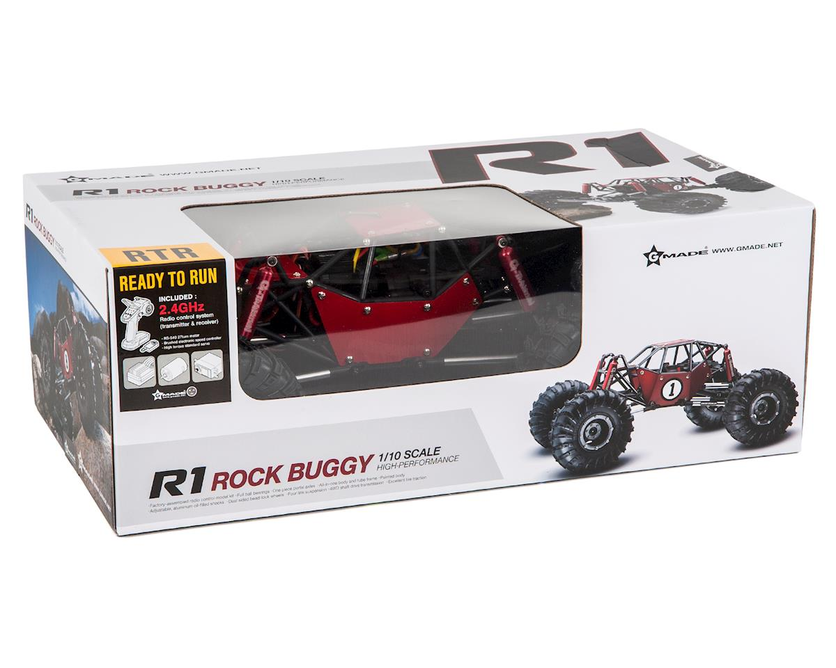 R1 1/10 RTR Rock Crawler Buggy w/2.4GHz Radio (Red) by Gmade