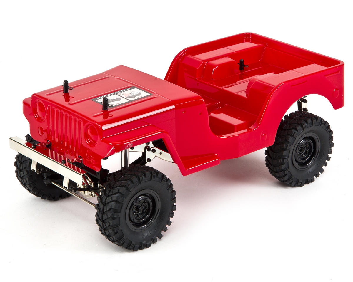 Sawback ARTR 1/10 Rock Crawler (Red)