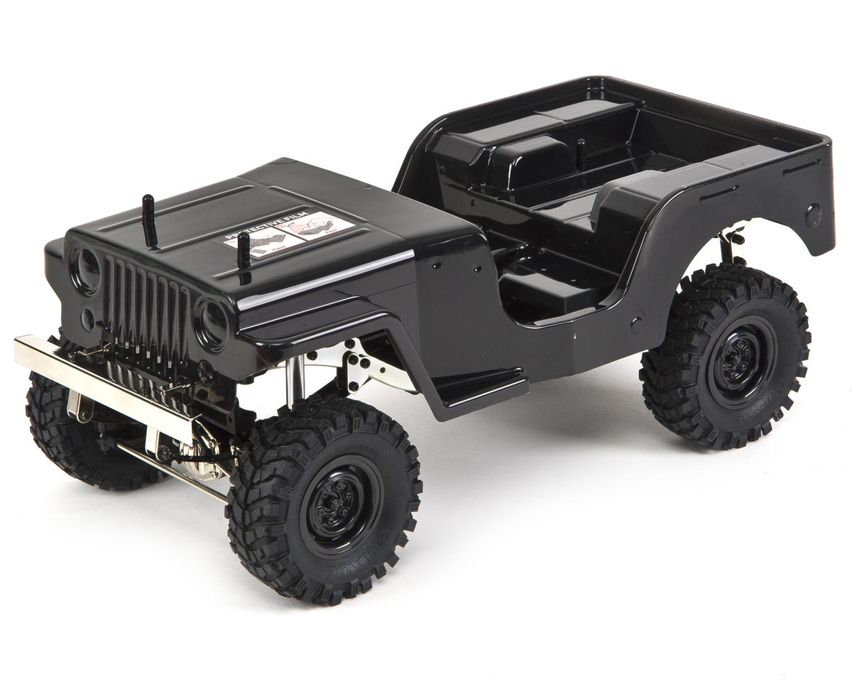 Sawback ARTR 1/10 Rock Crawler (Black)