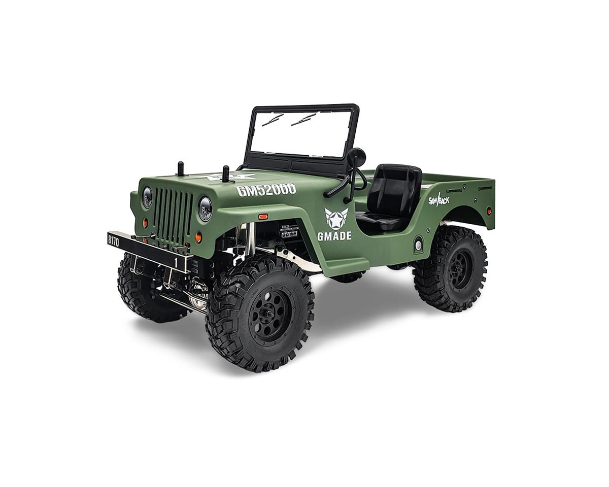 Gmade Military Sawback RTR Off-Road 4WD, 1/10th Scale | relatedproducts
