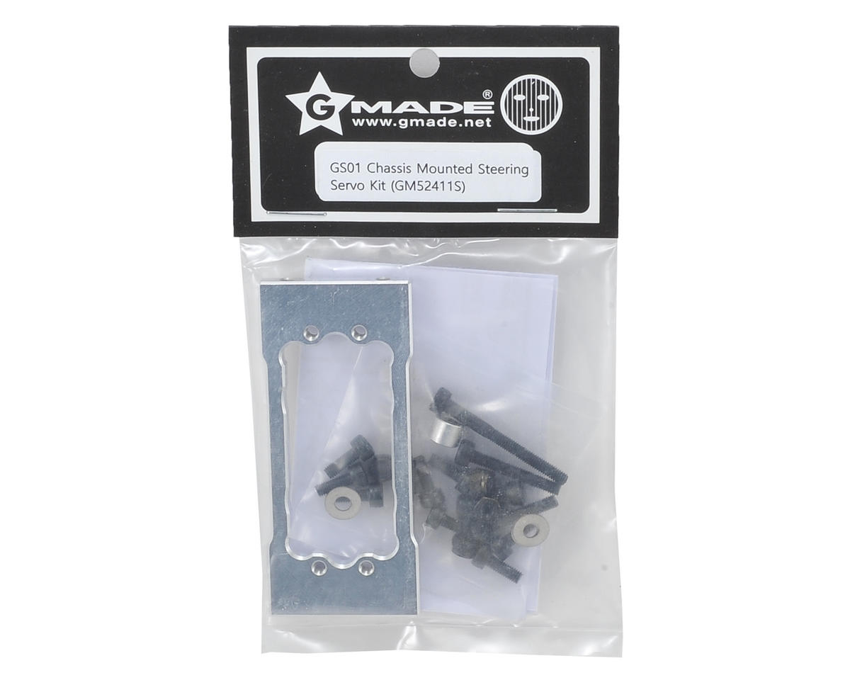GS01 Chassis Mounted Steering Servo Kit by Gmade