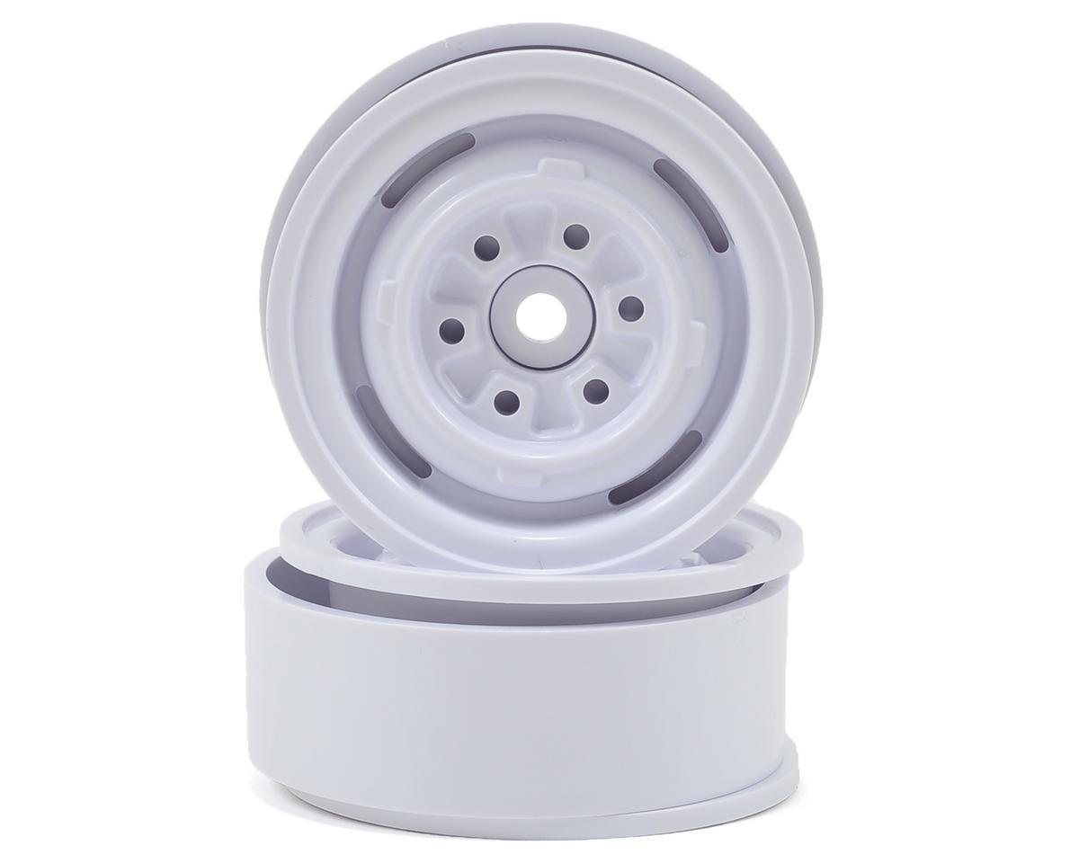 Gmade VR01 1.9 Beadlock Rock Crawler Wheels (2) (White)