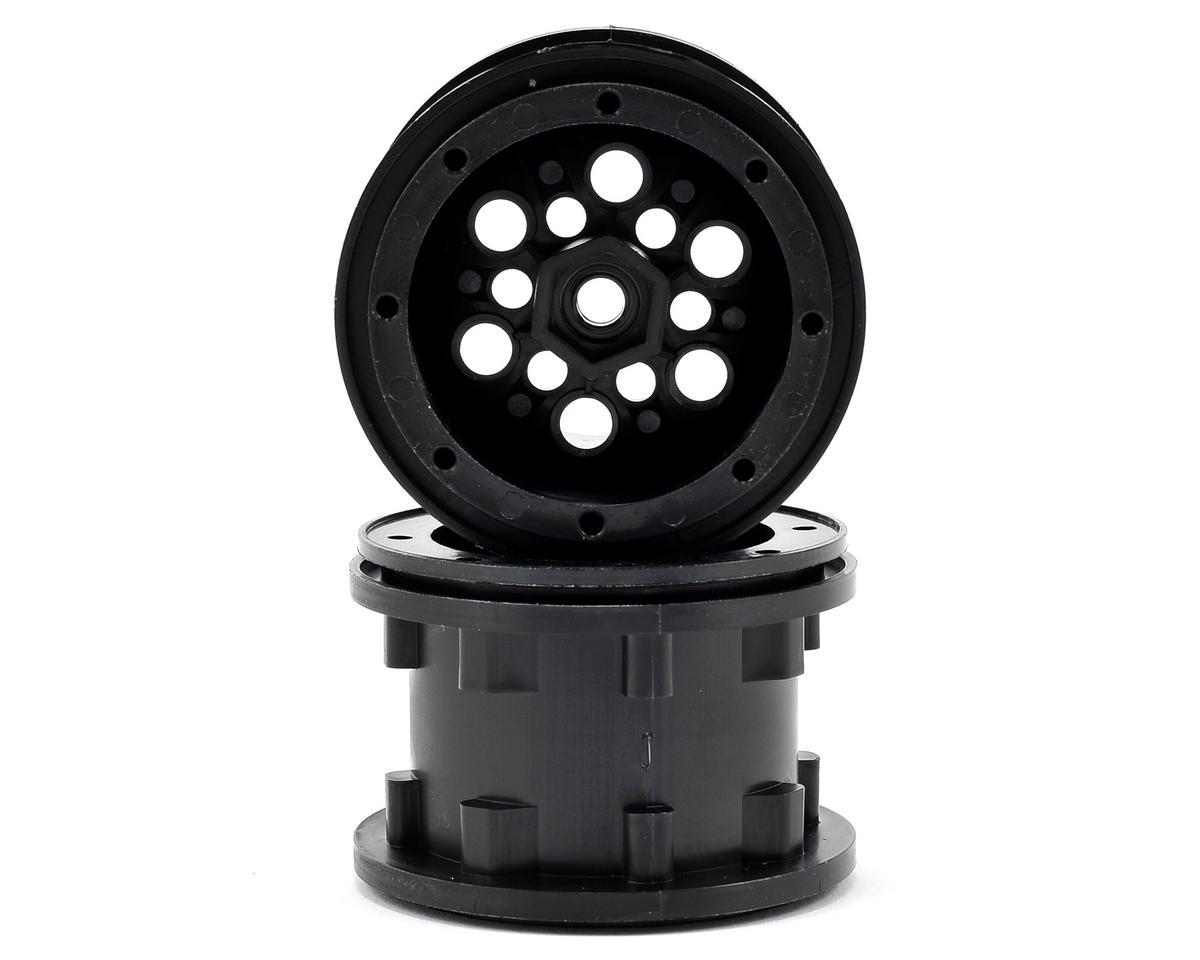 Gmade 2.2 Mudrock Challenger Beadlock Wheels (2) (Black)