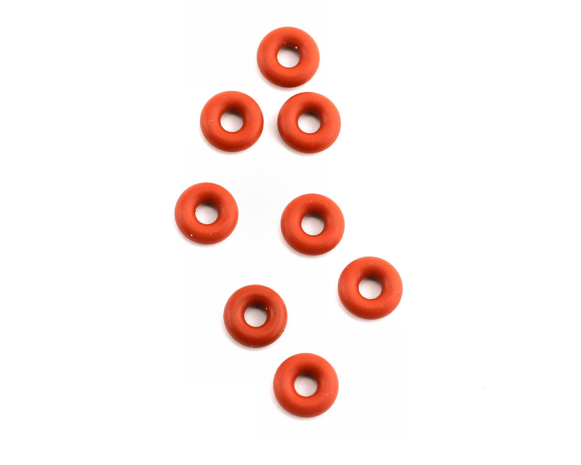 "GMK Supply ""Fat Boys"" - 3mm Shock Absorbing O-Rings for Fuel Tanks (8) (Team Associated Nitro TC3)"