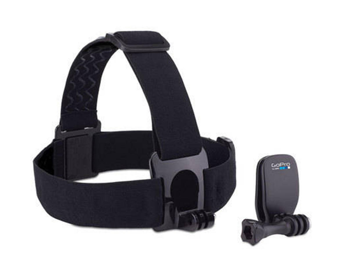 Head Strap Mount & QuickClip by GoPro