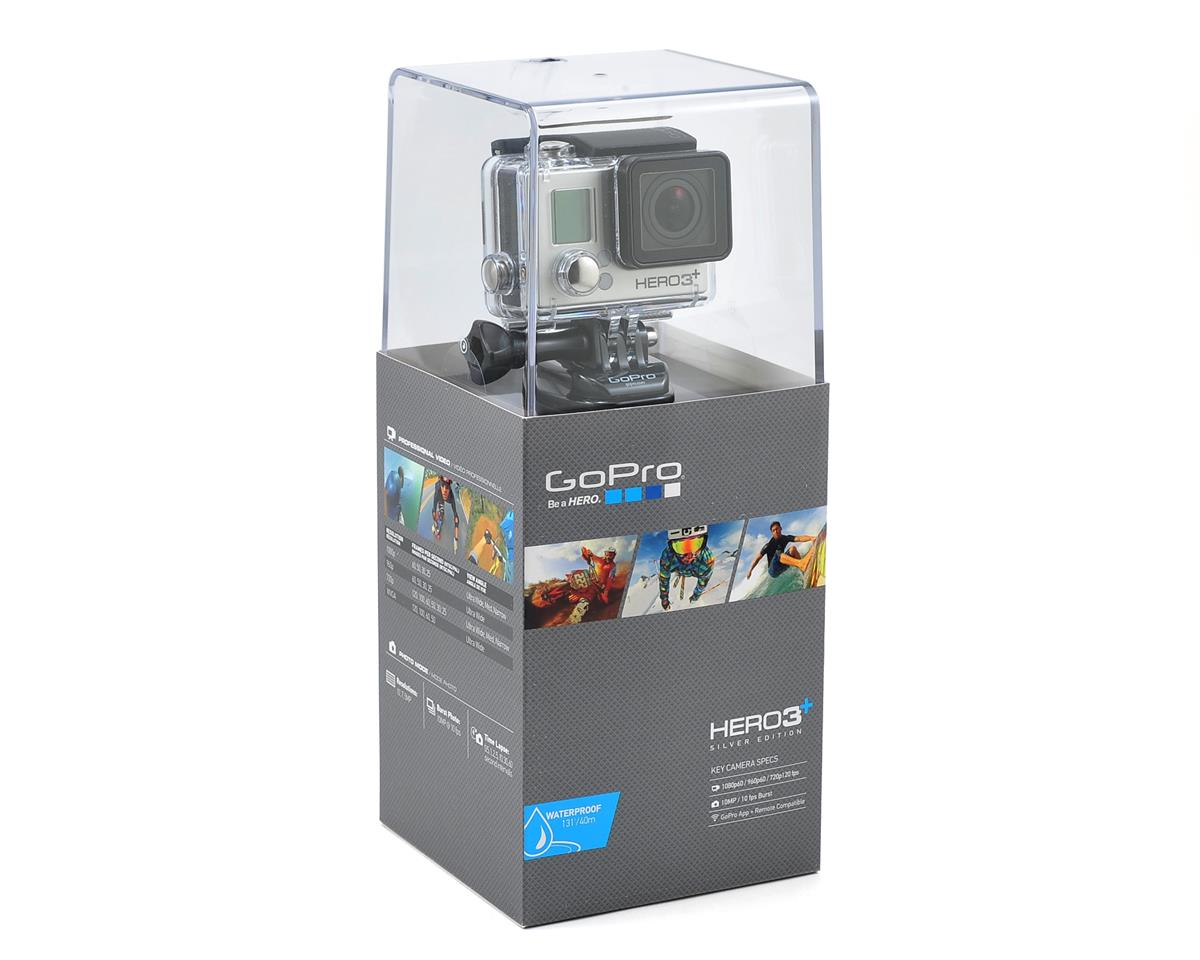 GoPro HD HERO3+ Silver Edition Camera