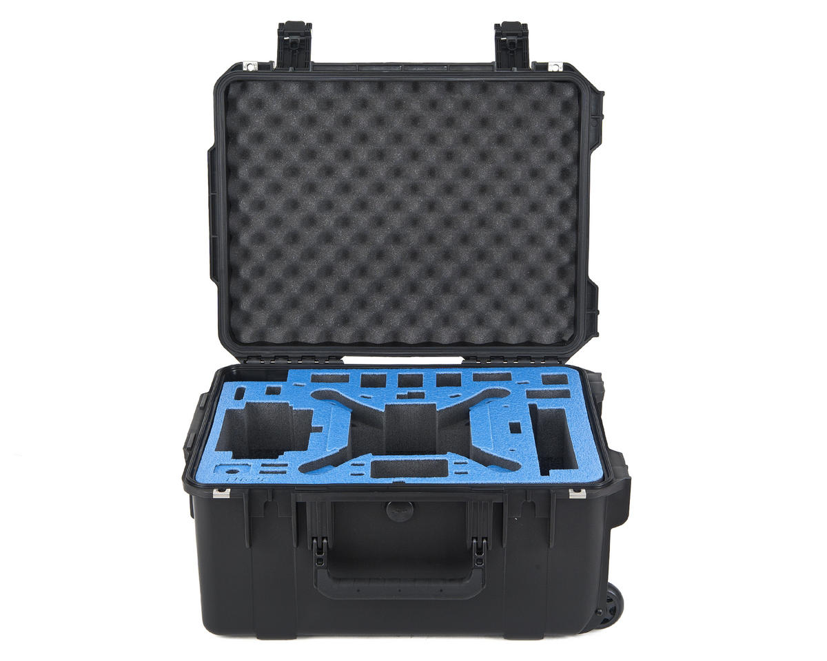 Go Professional DJI Phantom 3 Plus Universal Hard Case w/Wheels
