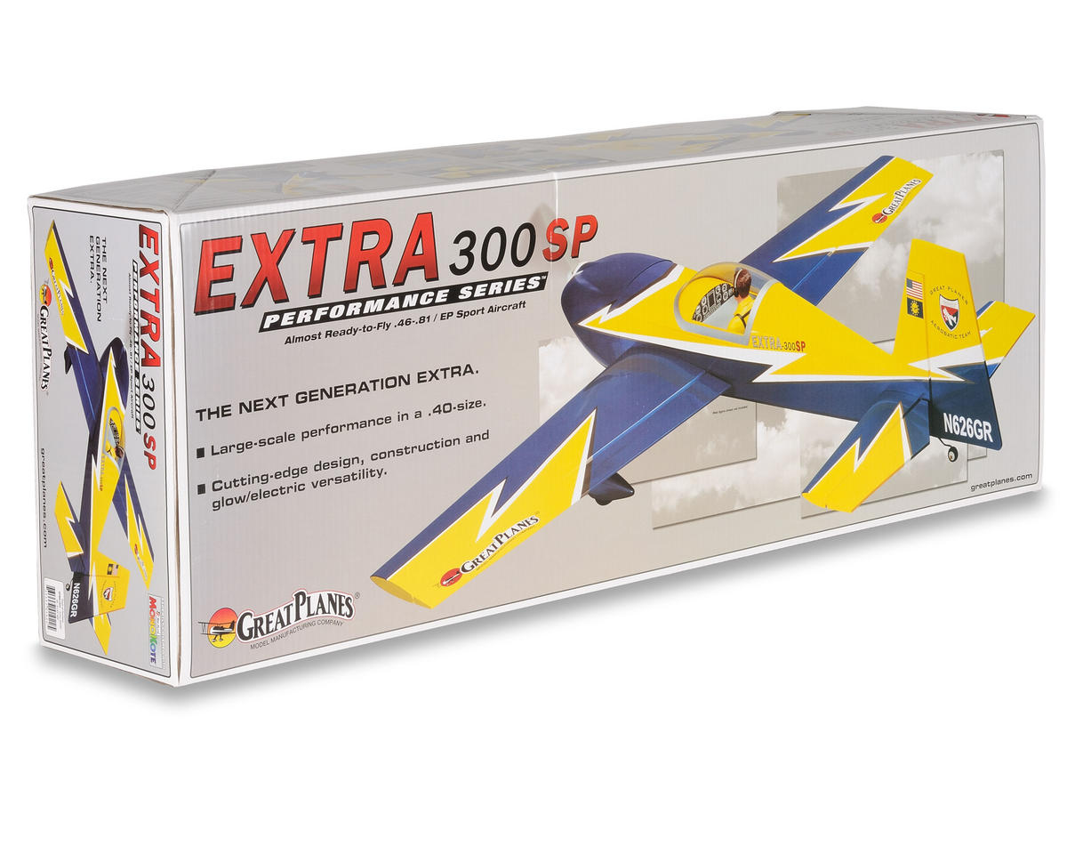 Great Planes Extra 300SP .46-.81 EP/GP ARF