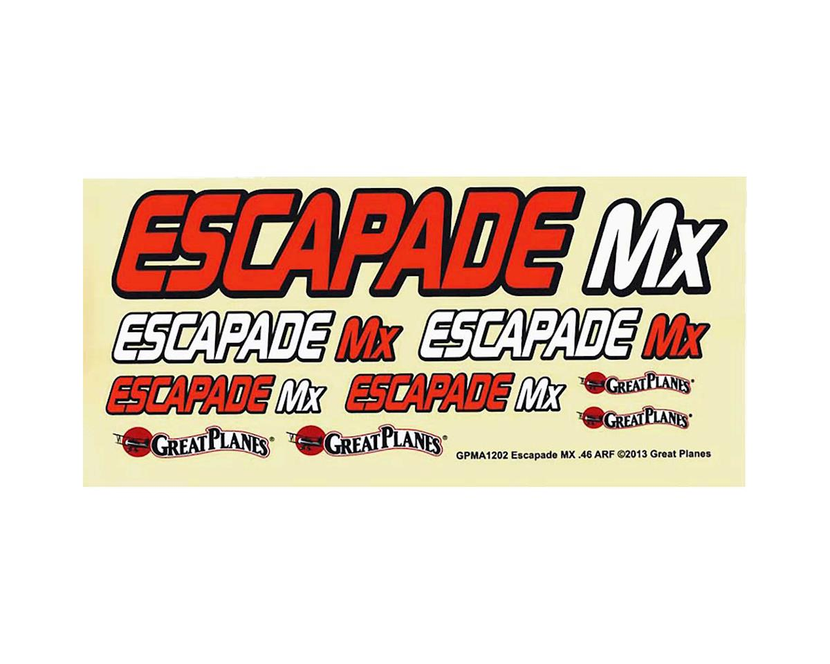 Great Planes Decals Escapade MX .46/EP ARF
