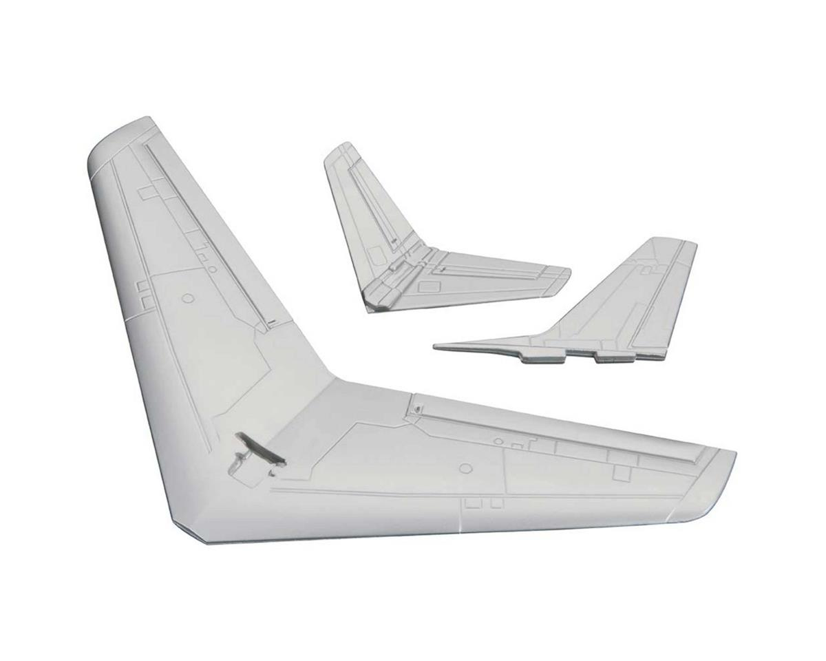 Wing/Tail Surfaces Set Micro F-86 Sabre by Great Planes