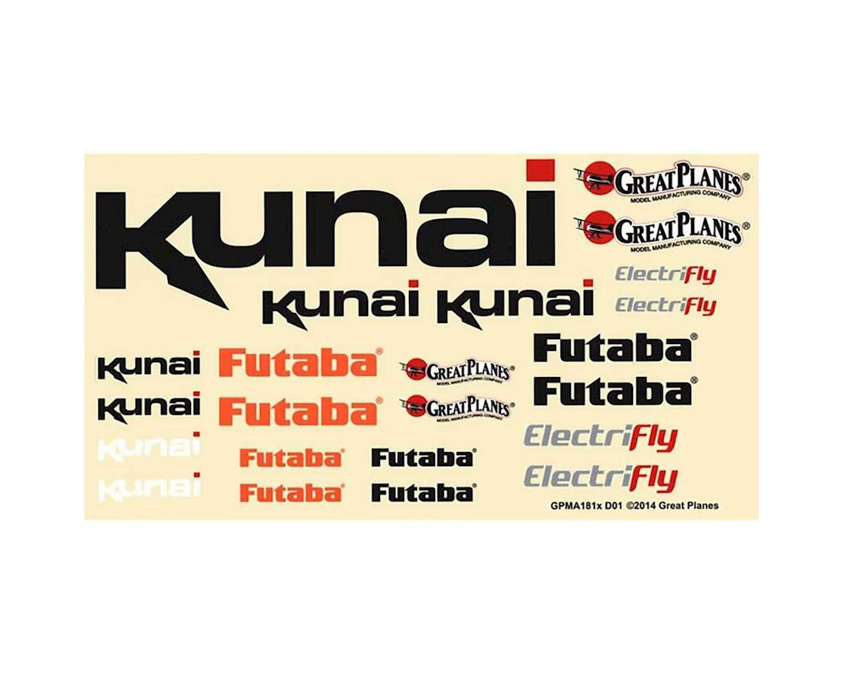 Great Planes Decals Kunai EP ARF/RXR