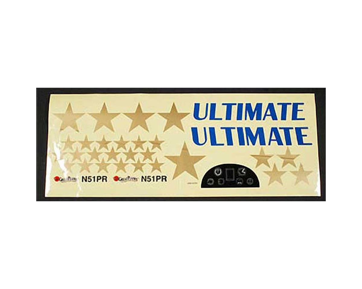 Great Planes Decal Set Ultimate Bipe ARF