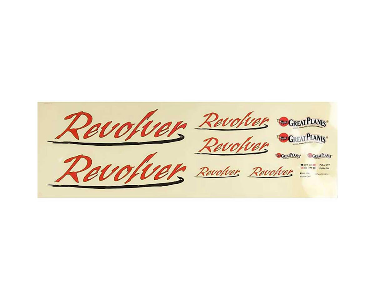 Great Planes Decal Sheet Revolver .46-.70 ARF