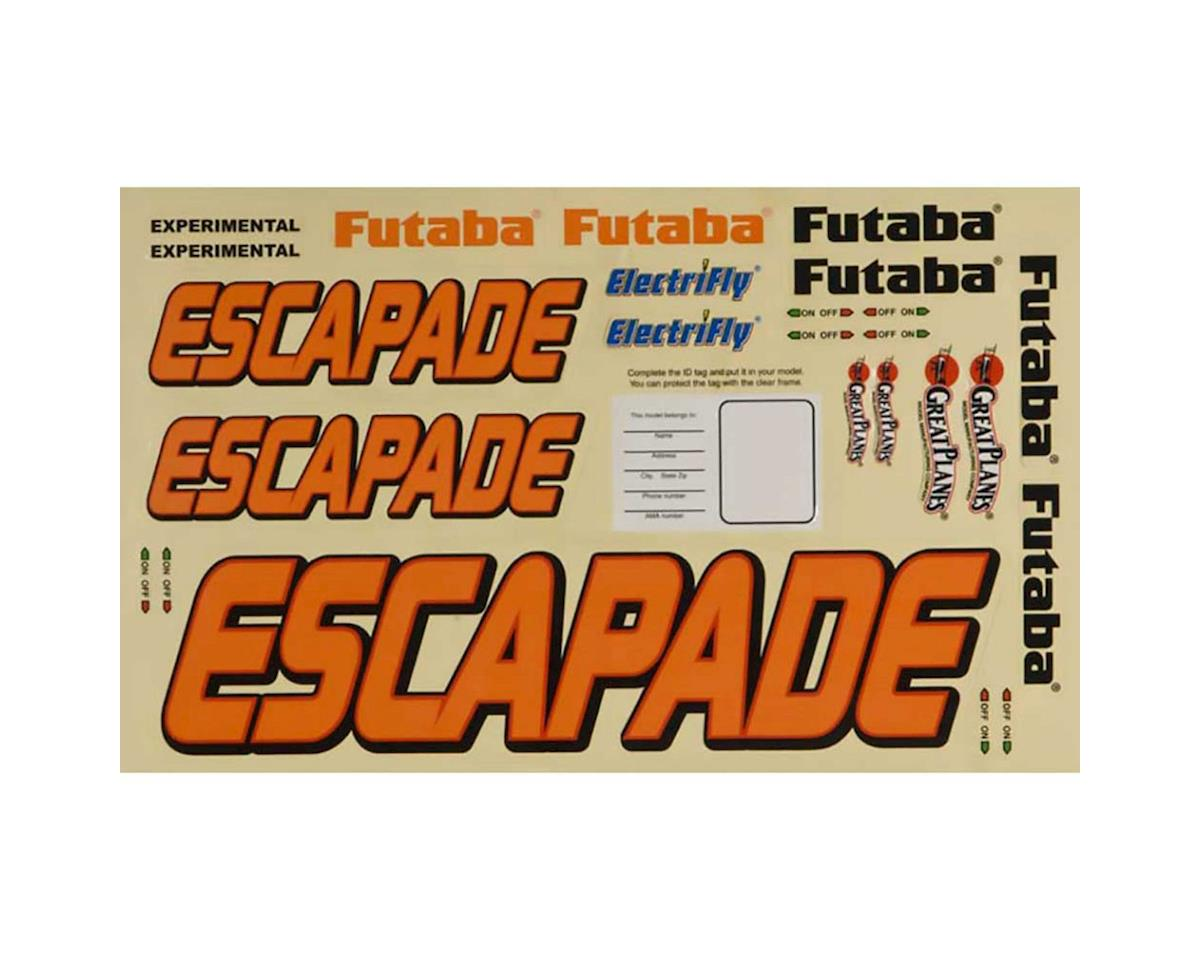 Great Planes Decal Set Escapade .40-.56 Sport ARF