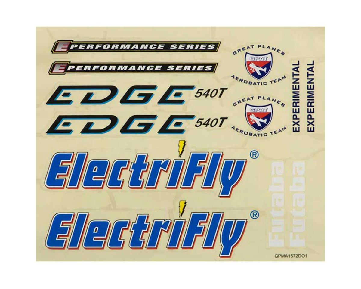 """Great Planes Decal Sheet Edge 540T 50"""" 3D EP ARF"""