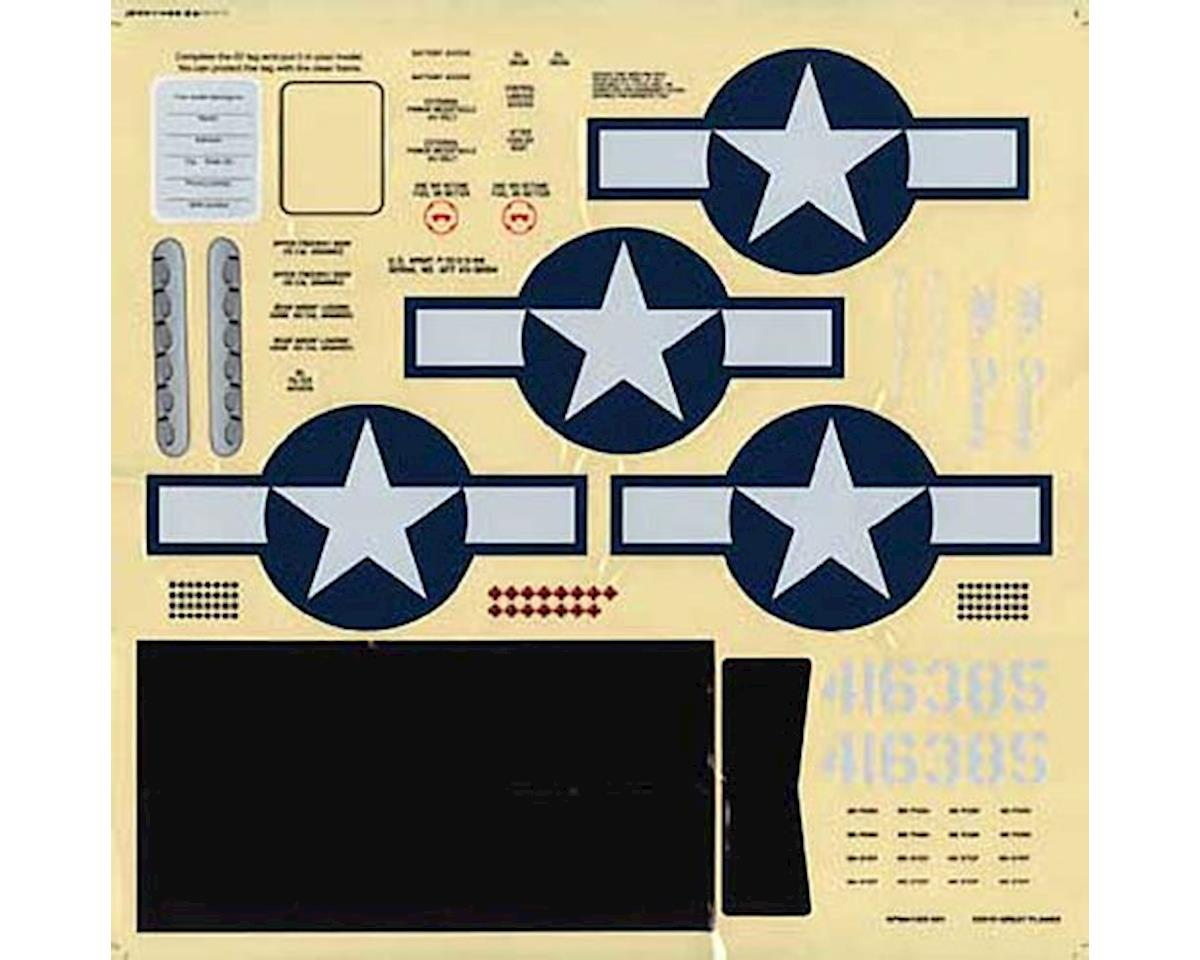 Great Planes Decals Fun Scale Mustang .46 ARF