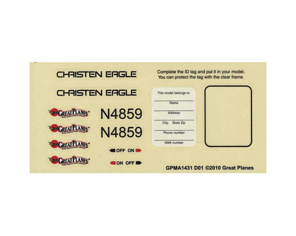 Great Planes Decals Christen Eagle 46 ARF