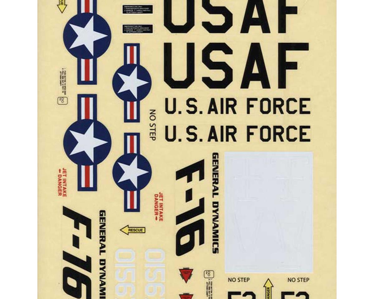 Great Planes Decals F-16 Falcon EDF ARF