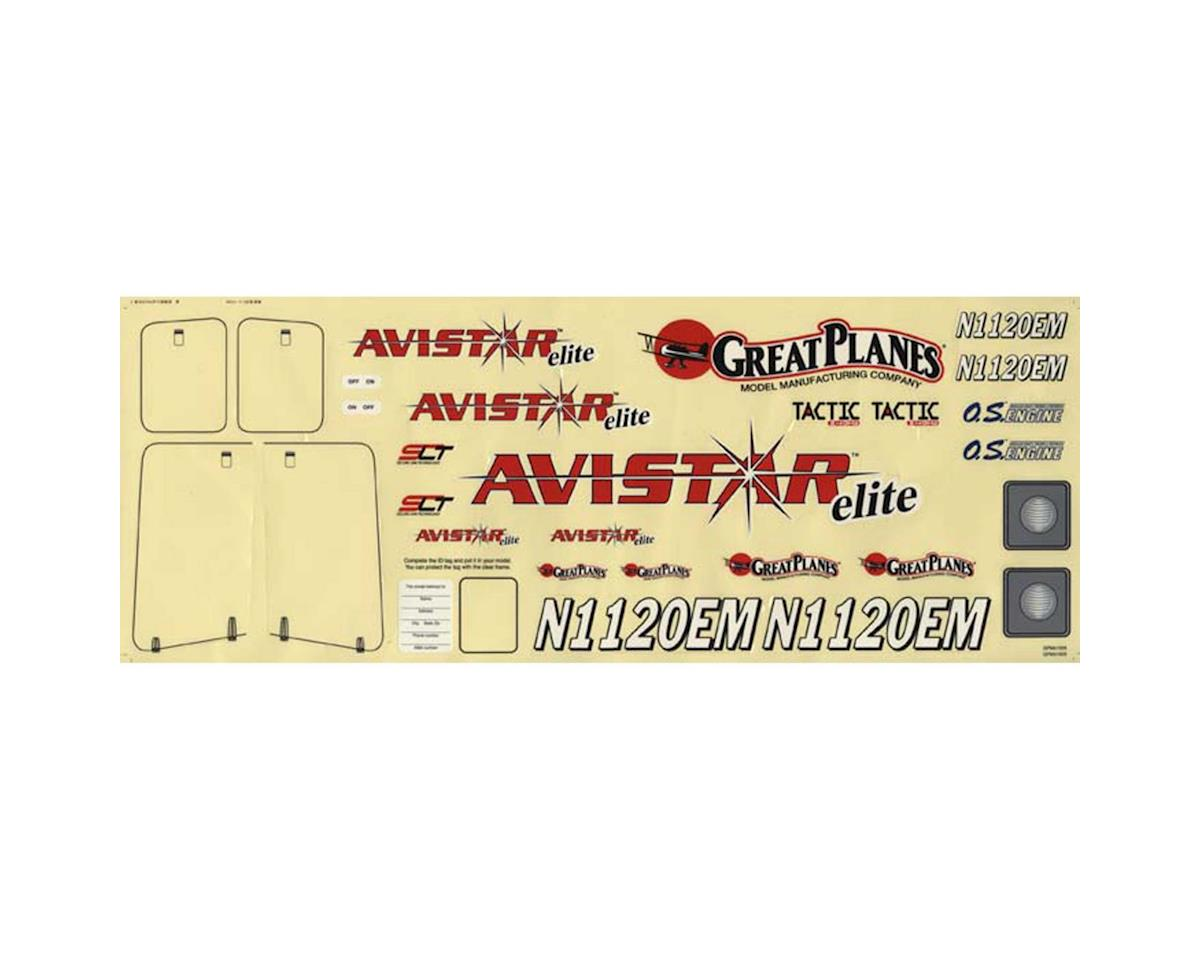 Great Planes Decals Avistar Elite