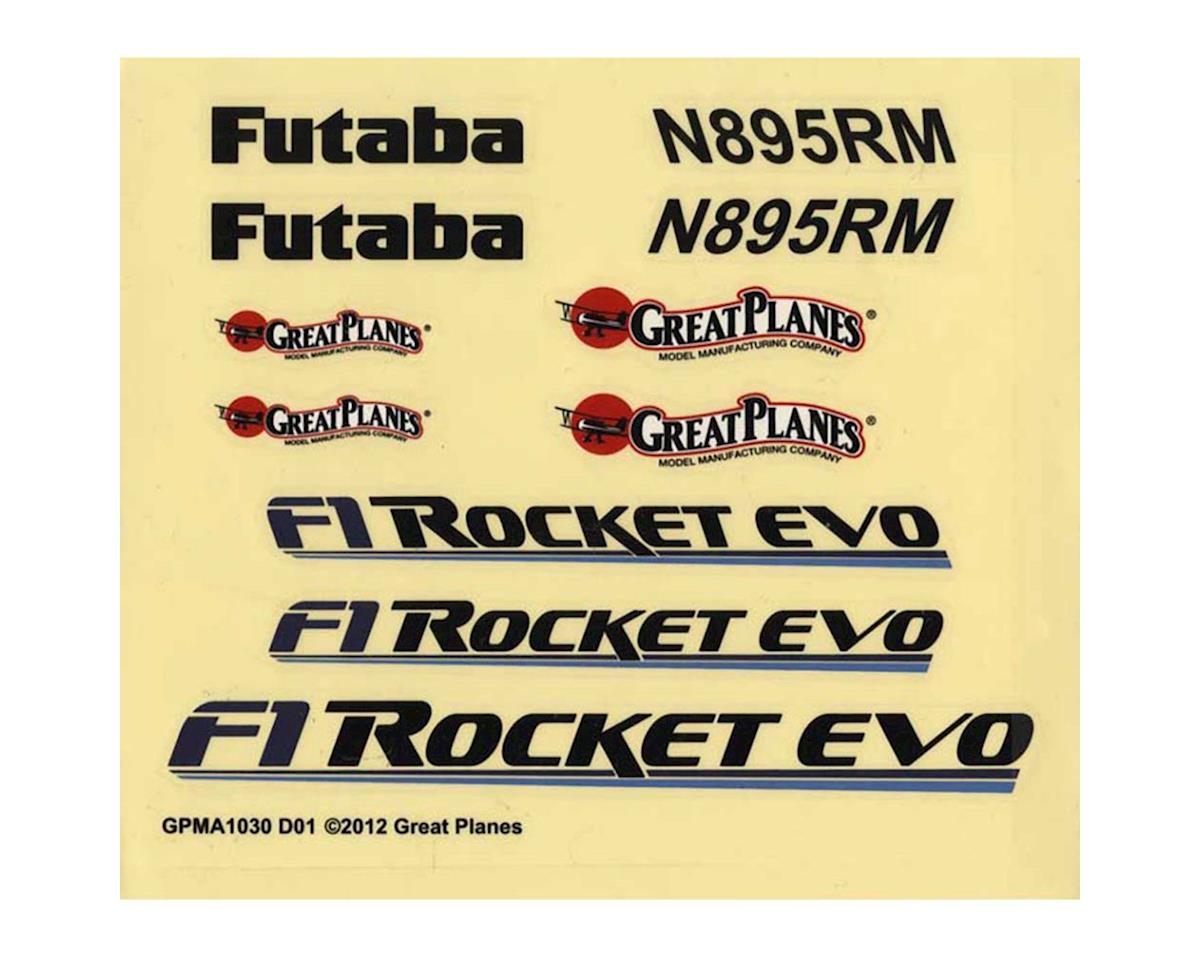 Great Planes Decals F-1 Rocket Evo .46/EP ARF