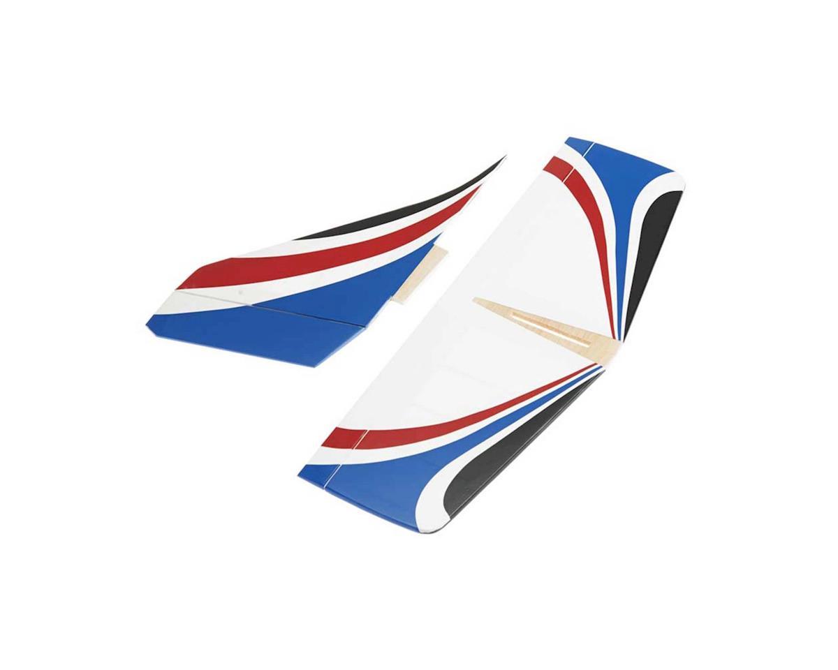 Great Planes Horizontal/Vertical Tail Set Twinstar EP ARF