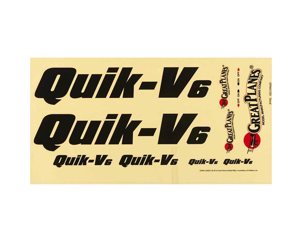 Decal QuikV6 Q500 ARF