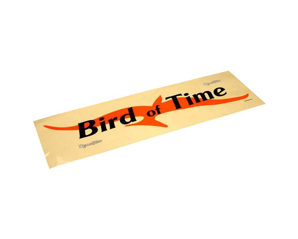 Great Planes Dynaflite Decal Sheet Bird Of Time ARF