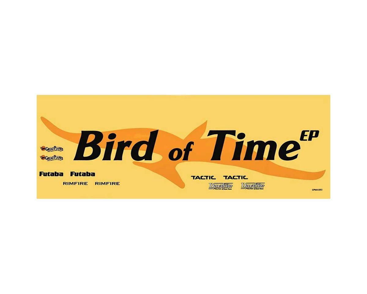 Great Planes Decals Bird Of Time EP ARF