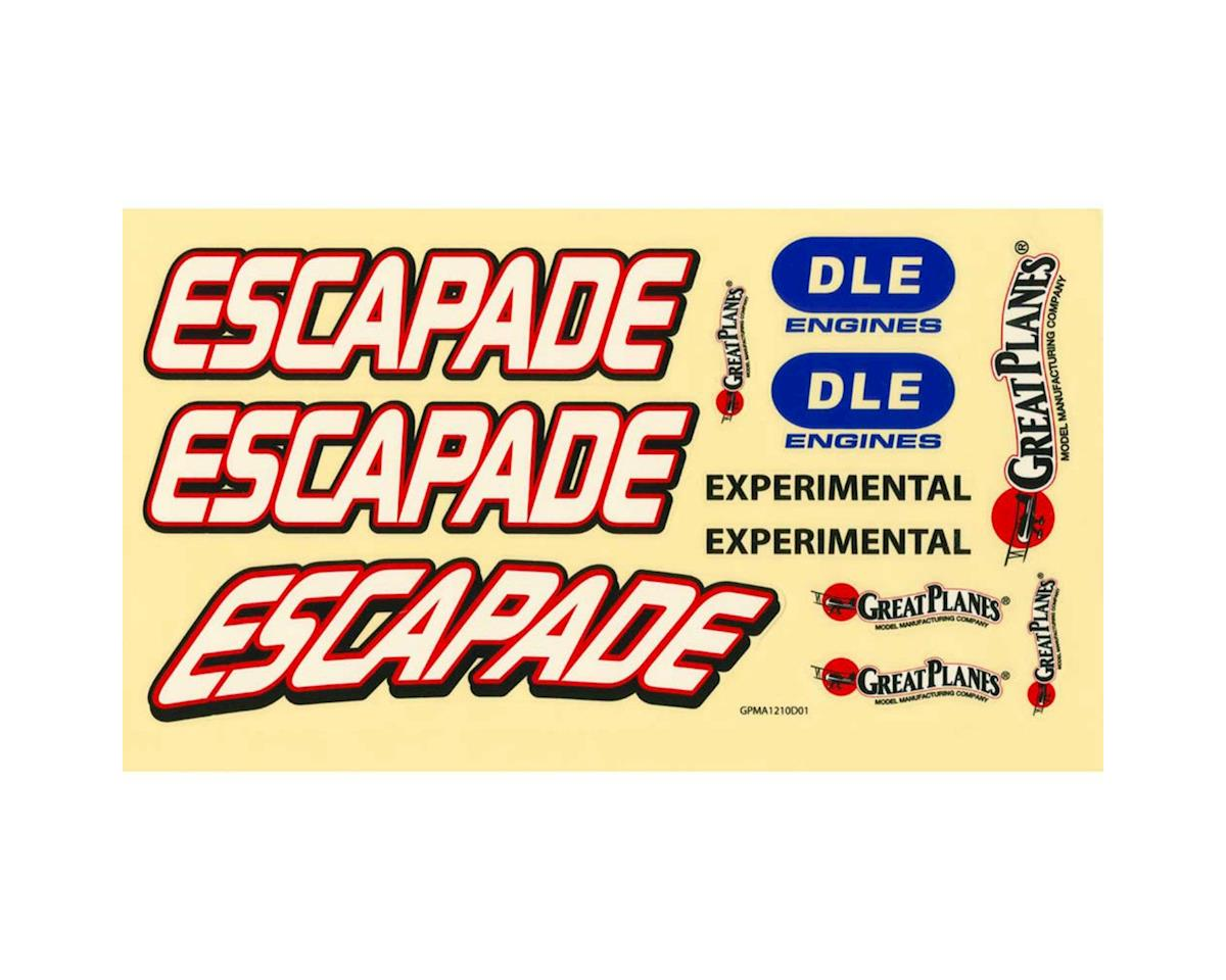 Great Planes Decals Escapade MX 30cc/EP ARF